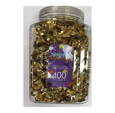 Wrapped Hard Candy Gold Foil 400ct.