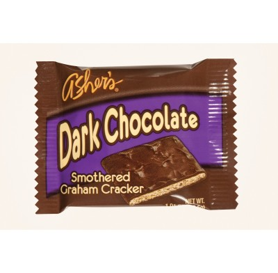 Graham Cracker Dark Chocolate Individually Wrapped