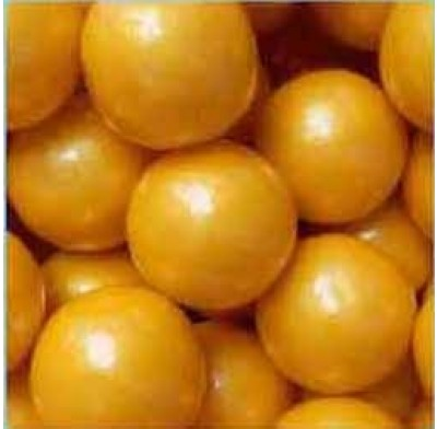 """Gumballs Pearl Gold 1"""" 2lbs."""