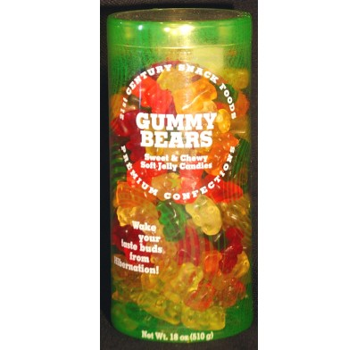 Gummy Bears 18oz. Canister