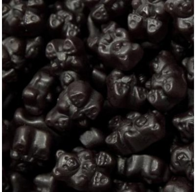Gummy Bears Black Cherry