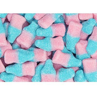 Gummy Sour Bubble Gum Bottles 2.2lb. Bag