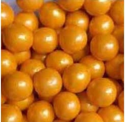 "Gumballs Pearl Gold 1/2"" 2lbs."