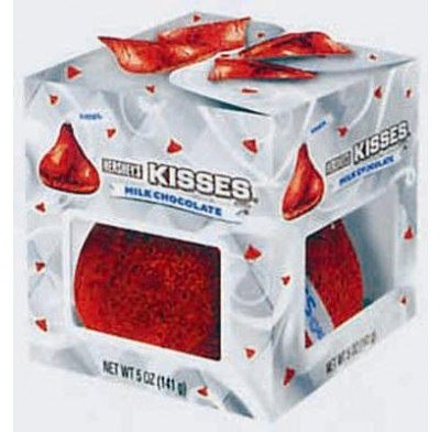 Hershey Giant 5oz. Kiss Red Foil