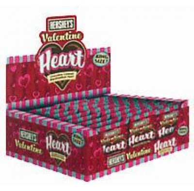 HERSHEY KING SIZE MARSHMALLOW HEART 24ct.