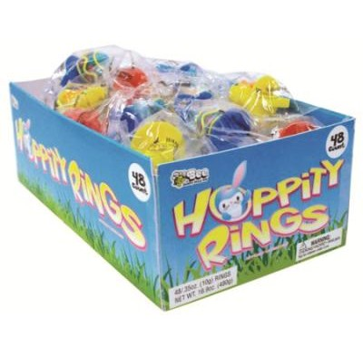 HOPPITY RINGS LOLLIPOPS 48ct.