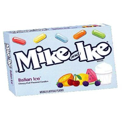 MIKE & IKE ITALIAN ICE 5oz MOVIE THEATER BOX