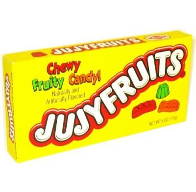 JUJYFRUITS 6oz.<BR>MOVIE THEATER BOX