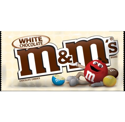 M&M's White Chocolate 24ct.