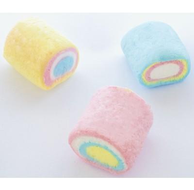 Marshmallow Tubes Rainbow