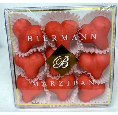 Marzipan Valentine Hearts 4oz. Gift Box