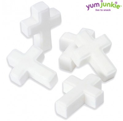 Candy Crosses Mini White