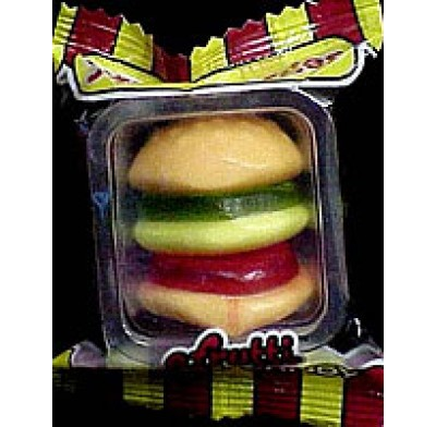 GUMMI BURGER MINI 60ct