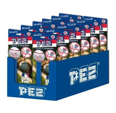 PEZ MAJOR LEAGUE BASEBALL - NY YANKEES