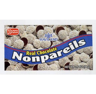 NONPAREILS 3.5oz.<BR>MOVIE THEATER BOX