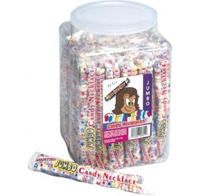 CANDY NECKLACE JAR-72 COUNT