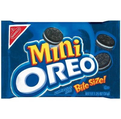 OREO MINIS SINGLE SERVE 12ct