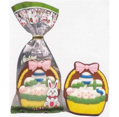 Decorated Milk Choc. Easter Basket