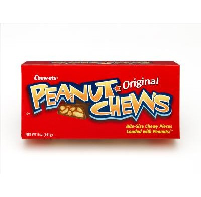 GOLDENBERG PEANUT CHEW 3.8oz. MOVIE THEATER BOX