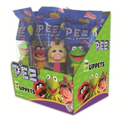 PEZ MUPPETS 12ct.