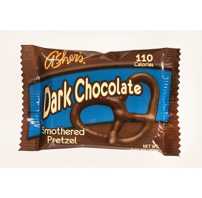 Pretzel Dark Chocolate Covered Individually Wrapped