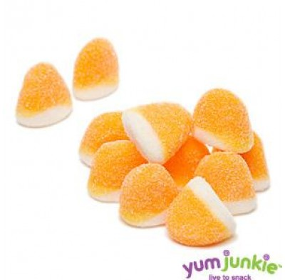 PUFFLETTES<BR>ORANGE & WHITE
