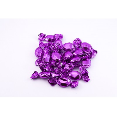 Foil Wrapped Fruit Grape Hard Candies