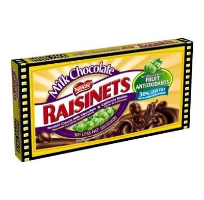 RAISINETS 3.5oz. MOVIE THEATER BOX