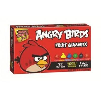 ANGRY BIRDS GUMMIES MOVIE THEATER BOX 3.5oz.