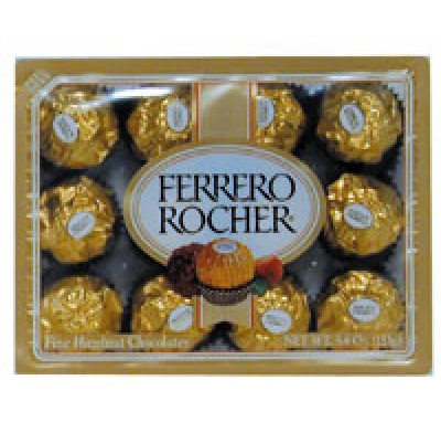 FERRERO ROCHER 12pc. 5.3oz. GIFT PACK
