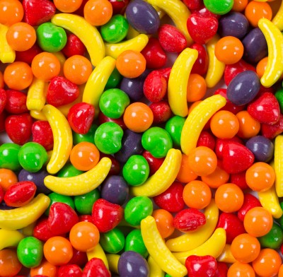 RUNTS FRUIT SHAPES-BULK