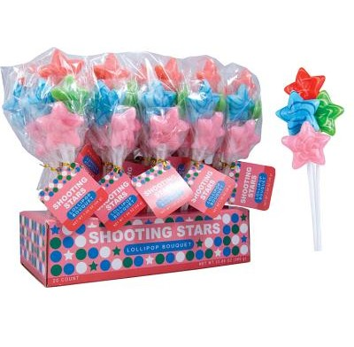 SHOOTING STAR LOLLIPOPS 20ct.