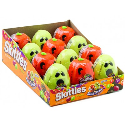 Skittles Halloween Twist 'n Pour 12ct