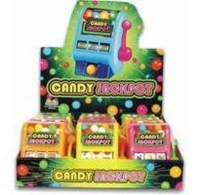 SLOT MACHINE CANDY DISPENSER 12ct.