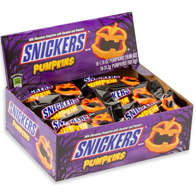 Snickers Pumpkins 24ct.