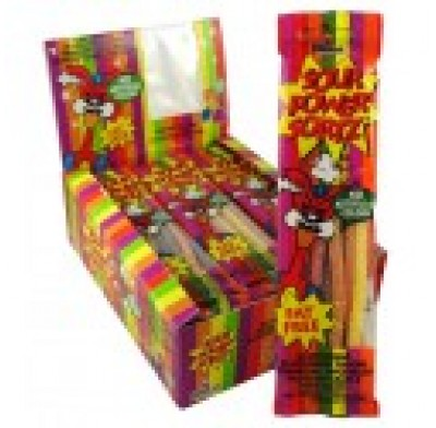 Sour Power Straws Sortz 24ct.