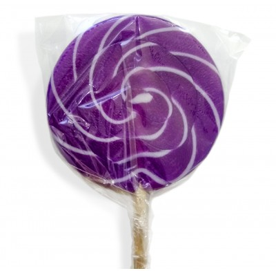 Color Splash Swirly Pops Purple 1.5oz 12ct