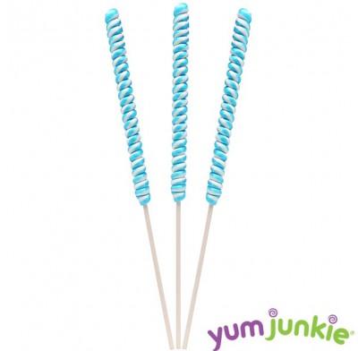"""Twist Lollipops 18"""" Blue"""