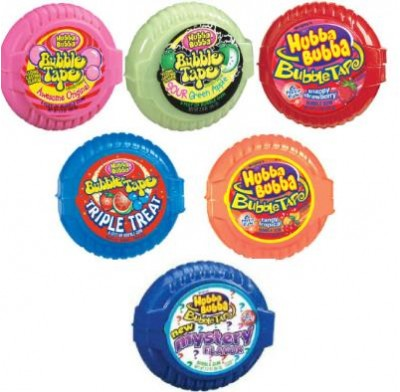 Bubble Tape Gum 12ct.