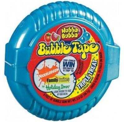 Bubble Tape Gum 12ct. Triple Treat