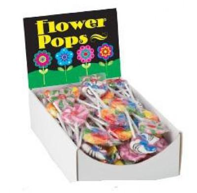 TEENY FLOWER LOLLIPOPS 96ct.