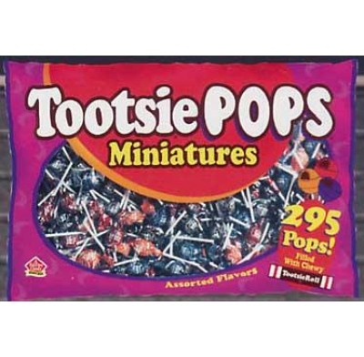 TOOTSIE POPS<br />MINIS 285ct. BAG