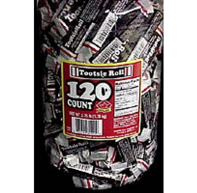 TOOTSIE ROLL MEDIUM<br /> in PLASTIC JAR 96ct.