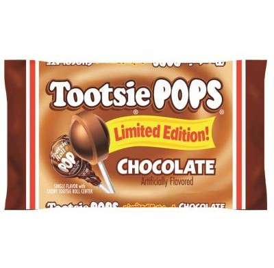 TOOTSIE POP CHOCOLATE ONLY 13.2oz.
