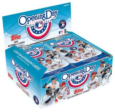 TOPPS OPENING DAY<BR>2013 BASEBALL CARDS 36ct.