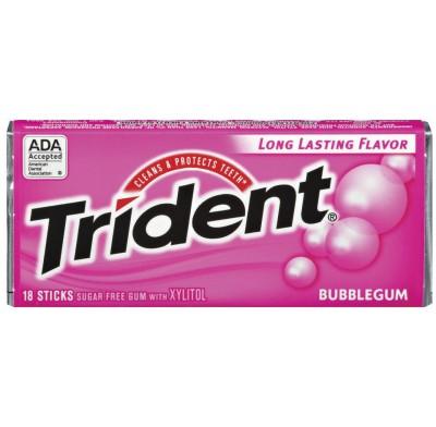 Trident Bubble Gum 15ct