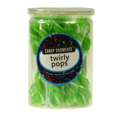 Twirly Pops 24ct. Green