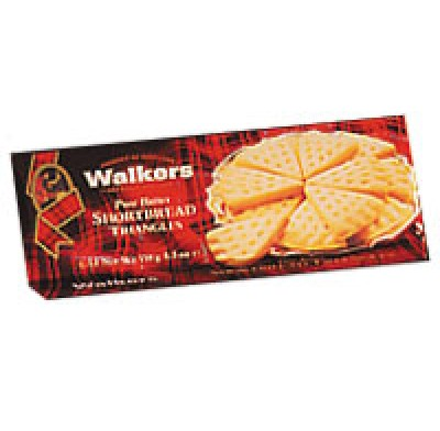 WALKERS SHORTBREAD TRIANGLES 5.3oz.