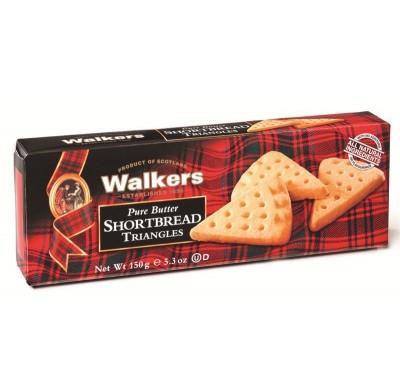 WALKERS SHORTBREAD TRIANGLES 5.3oz.