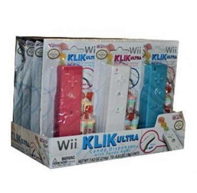 Wii KLIK CANDY DISPENSER 12ct.
